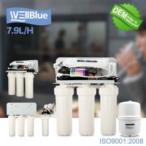 China Household Reverse Osmosis Water Filtration System With 3.2G Storage Tank on sale