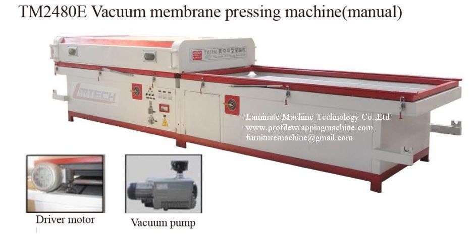 Pvc Door Boards Vacuum Lamination Machine For Sale Heat Transfer