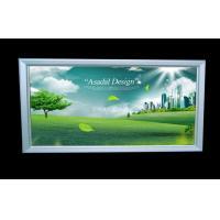 High Brightness Slim LED Light Box , Single Side Aluminium Profile