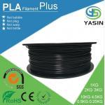 Filament en plastique qui respecte l'environnement d'imprimante de PLA 3d de matière première avec le diamètre de 1.75mm 2.85mm 3mm