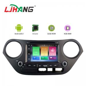 China Mirror Link SWC Hyundai Elantra Dvd Player , Built - In GPS Hyundai Portable Dvd Player on sale