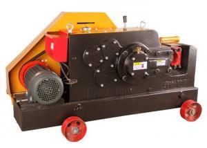 China Automatic Electric Cnc Rebar Cutting Machine 6 - 28mm Round Steel Bar Cutter on sale