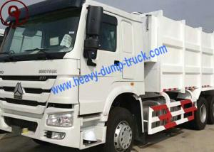 China Manual Operation Sinotruk HOWO 15m3 Capacity Garbage Compactor Truck on sale