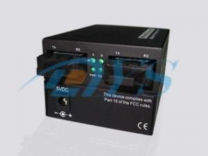 China Multimode Optical Fiber Media Converters UTP With 1K MAC Address Table on sale