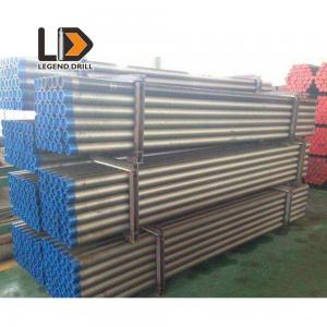 China Rock Blasting DTH Drill Pipe , Well Drilling Rods 114mm API 3 1/2 Reg on sale