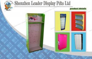 China Socks Cardboard Sidekick Displays / Recyclable Shop Display Stands on sale