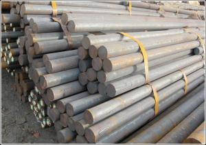 China Q235 Mild Steel Round Bar , 6.5mm Diameter Galvanized Hot rolled Metal Round Stock on sale