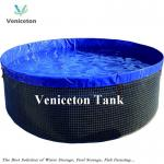 20000Litres PVC flexible wire mesh tank for  Fish farming tank  and water storage
