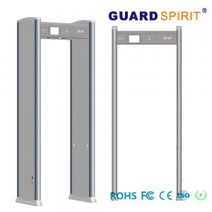 China Portable Door Frame metal detector body scanner Airport access control LED Alarm on sale