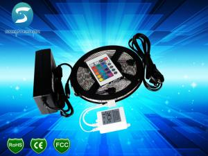 China Flexible 12 Volt LED Strip Light Waterproof RGB LED Tape Lights With 2 Year Warranty on sale