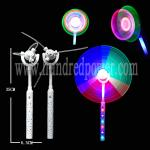 DIY Spinning Flashing Windmill Toy Commercial Windmill Led Light 9 LEDs