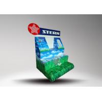 Recyclable Paper Cardboard Retail Display For Led Light Bulb , Pop up Display Stands