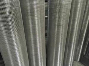 China Construction Site Anti Cracking Welded Wire Mesh , Stainless Steel Woven Wire Cloth on sale