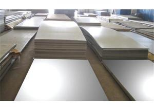 China AISI , DIN 316Ti Polished Stainless Steel Sheets , 316Ti Plate For Safe Doors on sale