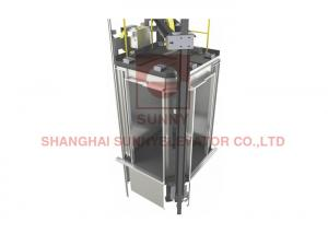 China 800kg 4 Sides Opening Panoramic Elevator And Lift Outdoor Ce Iso Approval on sale