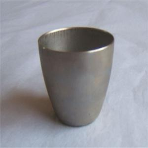 China Nickel Crucibles , Purity 99.95%,OD120MM*1MM THICK*500MM HIGHT on sale