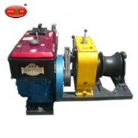 China China High Quality 8 Tons Cable Winch With Diesel Engine For Sale on sale