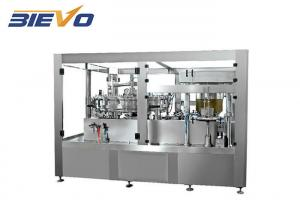 China Automatic 12 Heads 6000cph Tin Can Aluminum Beverage Soda Can Filling And Sealing Machine on sale