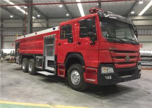 China Euro II 4x2 Sinotruk Fire Fighting Truck 7000l Water Foam Fire Rescue Truck on sale