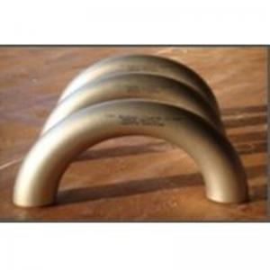 China DIN2605 Butt Weld Fittings 180d Cu-Ni Copper Nickel LR Elbow on sale