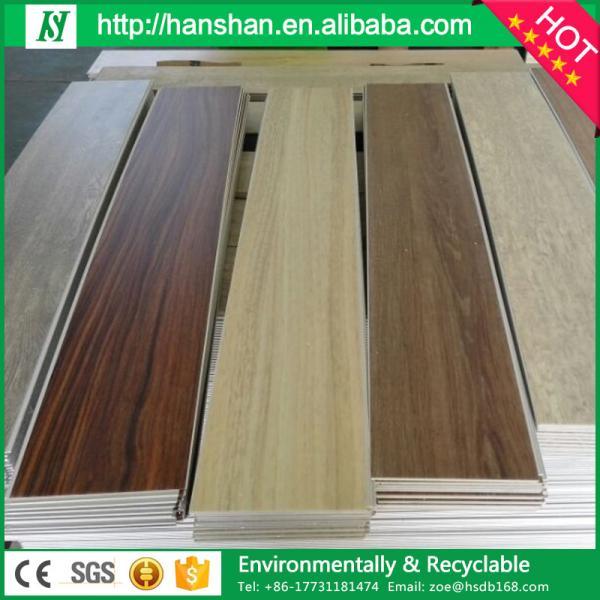 Quality Assurance Factory Direct Sale Wood Look Commercial Pvc Vinyl