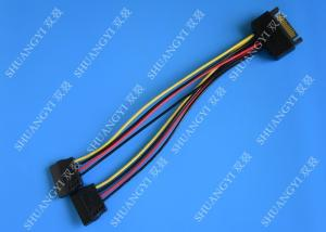 China Кабель 8 данным по дюйма тонкий САТА, мужчина 15 Пин к женскому удлинительному кабелю силы САТА on sale