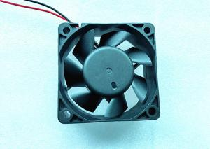 China 6000rpm DC Axial Fans 12V DC Motor Impedence Protected With 2 Pin Lead Wire on sale