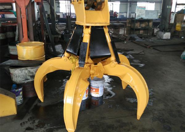 Rotate Hydraulic Orange Peel Grapple for PC220 Excavator