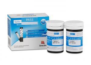 China SAFE ACCU Sinocare Blood Glucose Test Strips 30-60% HCT Venous Plasma Calibration Sample For Glucometer Sugar Blood Met on sale