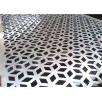 Decorative Perforated Metal Mesh Screen Plain Weave 1.22x2.44m Size