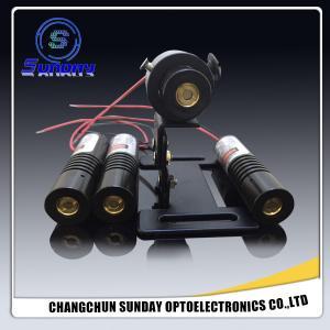 China ligne croix 9*23mm, 10*30mm, 12*40mm, 16*70mm ou taille de point de module de laser de vert de 520nm 532nm 100mW 200mW de client fabriquée en Chine on sale