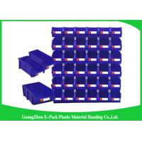 Recyclable Warehouse Storage Bins Shelf Wall Mounted Big Capacity For Spare Parts Storage