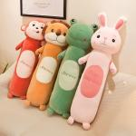 Cylindrical Cute Eco Friendly Stuffed Animals Pp Cotton Soft Plush Toys