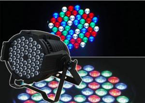 China White 54 pcs 3W Led Par Lights Stage Equipment With Auto Mode RGBW NJ-L5403 on sale