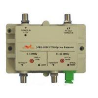 China Single Fiber Bi-directional RFOG FTTH Optical Receiver on sale