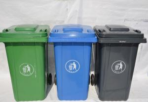China 100L Industrial Garbage Container Recycle Plastic Bin on sale