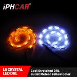 IPHCAR Flexible Led daytime light Car Running Light  Led DRL with Turning Signal