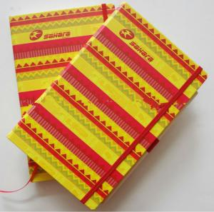 China Printable Notebook paper with a pocket backside on sale