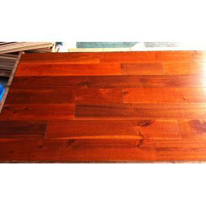 China solid Acacia wood flooring(large leaf) on sale