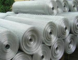 China Easy Installation PVC Coated Wire Mesh Rolls , Green Metal Mesh Fencing For Road on sale