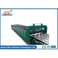Long time service  2018 new type PLC Control Full Automatic Car panel roll forming machine green color made in china