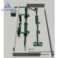 1 Ton/ hour Organic fertilizer granulation machine production line/fertilizer plant