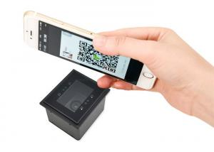 China Unmanned Supermarket Self Service Store QR code Door Lock 2D Barcode Scanner Module on sale