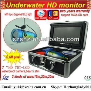China Camera SY7000DVR HD underwater fishing video camera with function of recording video or image on sale