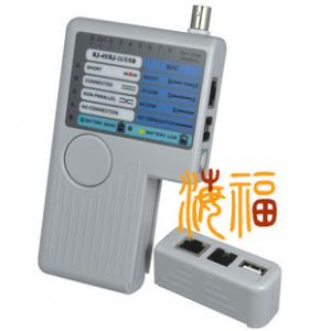 China Handheld 4 in 1 RJ45 Cable RJ11 Cable USB A to B Cable and BNC Cable Tester on sale