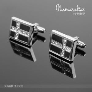 China 3D promotion hemispheric soccer metal cuff-link on sale