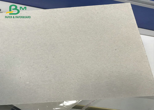 Uncoated Double Sided Corrugated Medium Paper Recycled Pulp Laminated Grey Board For Packing box