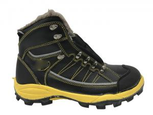 China Custom Size Waterproof Safety Boots Latest Style With Artificial Wool on sale