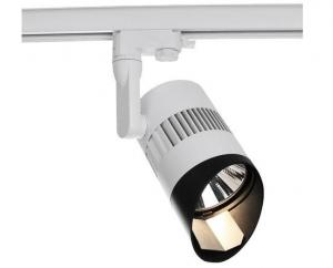 China White / Black / Silver Indoor Track Lighting for Exhibition Citizen COB 30W CRI85 1600lm on sale