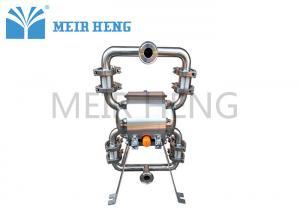 China Sanitary Diaphragm Pump Pneumatic Diaphragm Pump Food Pump Stainless Honey Pump on sale